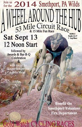 Wheel Around the Hub Bicycle Races Coming September 14th