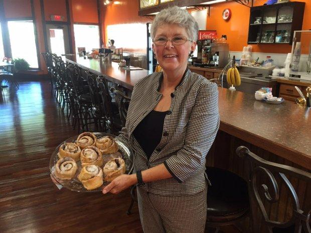 Darlene Dorward, Owner, Chico's Café and Bake Shoppe (Photo by Ross Porter)
